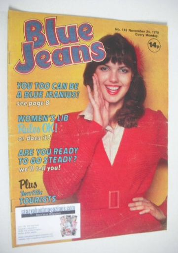 <!--1979-11-24-->Blue Jeans magazine (24 November 1979 - Issue 149)