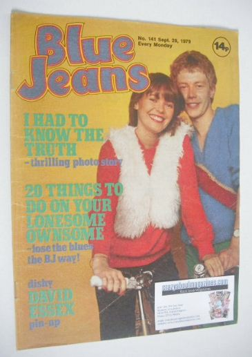 <!--1979-09-29-->Blue Jeans magazine (29 September 1979 - Issue 141)