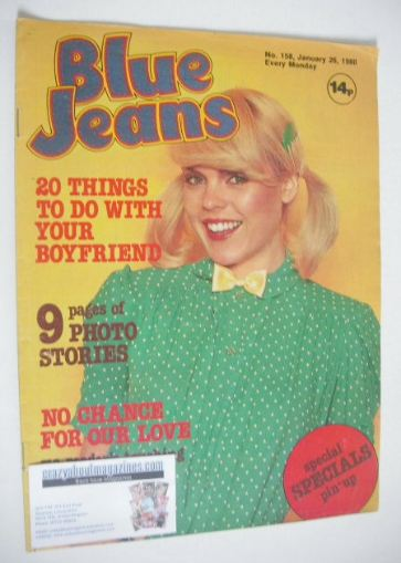<!--1980-01-26-->Blue Jeans magazine (26 January 1980 - Issue 158)