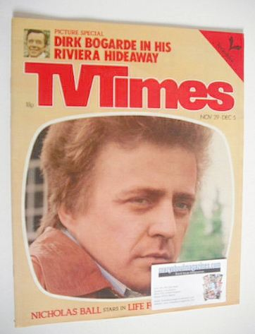 <!--1980-11-29-->TV Times magazine - Danny La Rue cover (29 November - 5 De