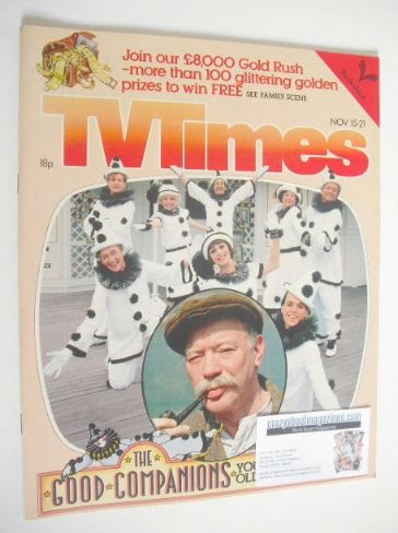 <!--1980-11-15-->TV Times magazine - The Good Companions cover (15-21 Novem