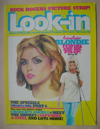 <!--1980-10-25-->Look In magazine - Debbie Harry cover (25 October 1980)