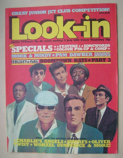 <!--1980-07-05-->Look In magazine - The Specials cover (5 July 1980)