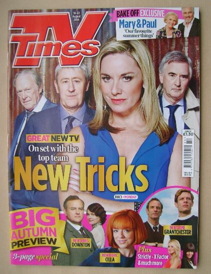 <!--2014-08-16-->TV Times magazine - New Tricks cover (16-22 August 2014)
