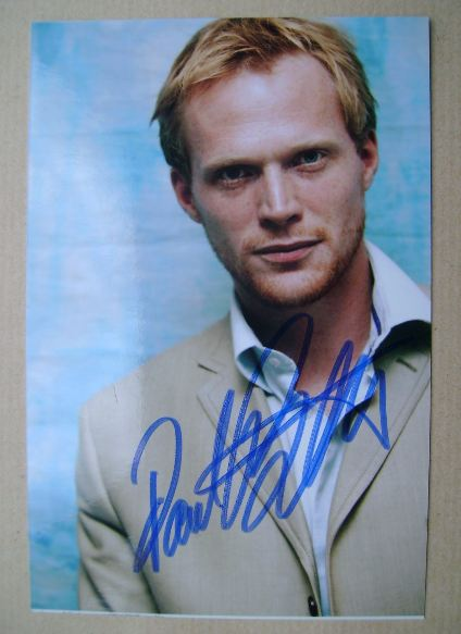 Paul Bettany autograph (hand-signed photograph)