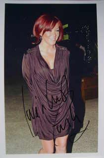 Natasha Hamilton autograph