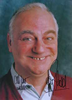 Roy Hudd autograph