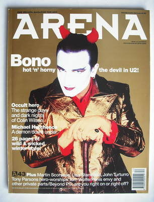 <!--1993-12-->Arena magazine - December 1993/January 1994 - Bono cover