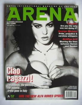 Arena magazine - April 1996 - Monica Bellucci cover