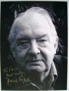 David Ryall autograph (hand-signed photograph, dedicated)