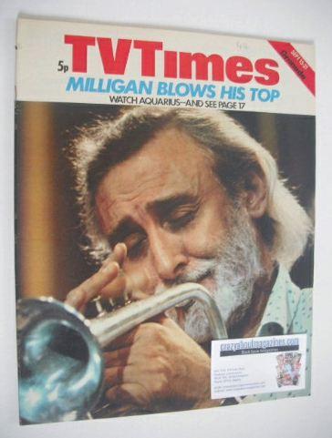 <!--1973-09-15-->TV Times magazine - Spike Milligan cover (15-21 September