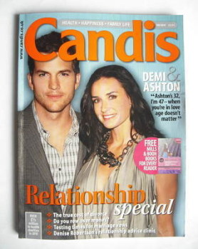 Candis magazine - February 2010 - Demi Moore and Ashton Kutcher cover