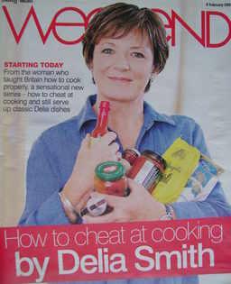 <!--2008-02-09-->Weekend magazine - Delia Smith cover (9 February 2008)