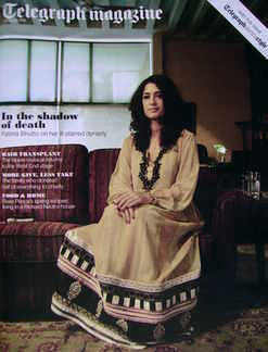 <!--2010-03-27-->Telegraph magazine - Fatima Bhutto cover (27 March 2010)