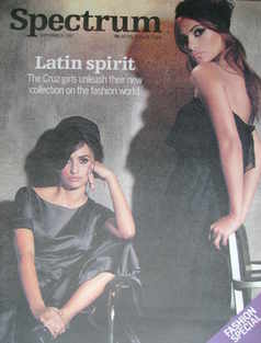 Spectrum magazine - Penelope Cruz and Monica Cruz cover (16 September 2007)