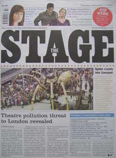 The Stage newspaper (11 September 2008)