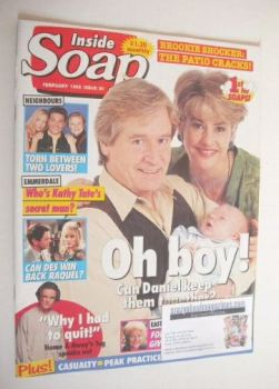 Inside Soap magazine - Denise Black and William Roache cover (February 1995)