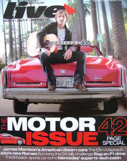 <!--2007-02-25-->Live magazine - James Morrison cover (25 February 2007)