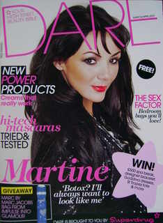 <!--2010-03-->Dare magazine - Martine McCutcheon cover (March/April 2010)