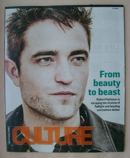 <!--2014-08-10-->Culture magazine - Robert Pattinson cover (10 August 2014)
