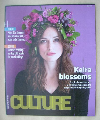 <!--2014-06-29-->Culture magazine - Keira Knightley cover (29 June 2014)