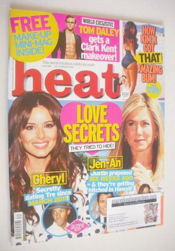 <!--2012-08-25-->Heat magazine - Love Secrets cover (25-31 August 2012)