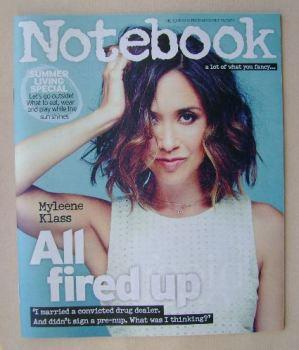 Notebook magazine - Myleene Klass cover (26 July 2015)
