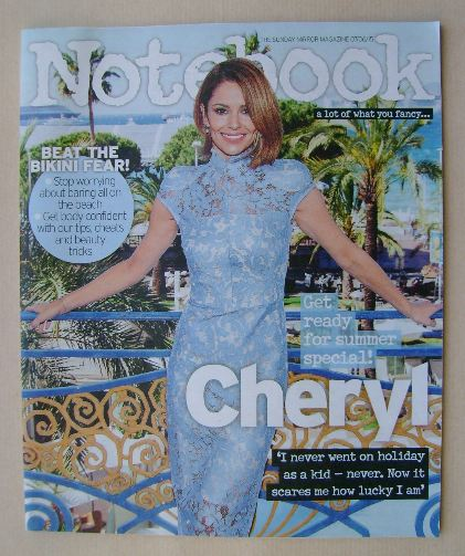<!--2015-06-07-->Notebook magazine - Cheryl Fernandez-Versini cover (7 June