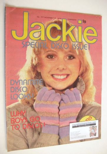 <!--1978-11-25-->Jackie magazine - 25 November 1978 (Issue 777)
