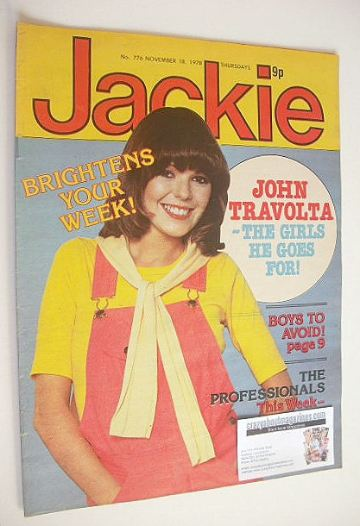 <!--1978-11-18-->Jackie magazine - 18 November 1978 (Issue 776)