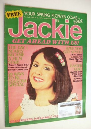 <!--1978-03-25-->Jackie magazine - 25 March 1978 (Issue 742)