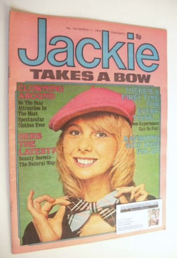 <!--1978-03-11-->Jackie magazine - 11 March 1978 (Issue 740)