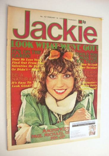 <!--1978-02-18-->Jackie magazine - 18 February 1978 (Issue 737)