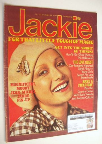 <!--1977-10-29-->Jackie magazine - 29 October 1977 (Issue 721)