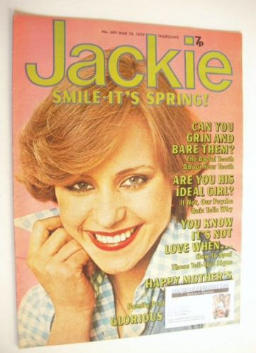<!--1977-03-19-->Jackie magazine - 19 March 1977 (Issue 689)