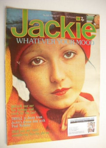 <!--1977-02-19-->Jackie magazine - 19 February 1977 (Issue 685)