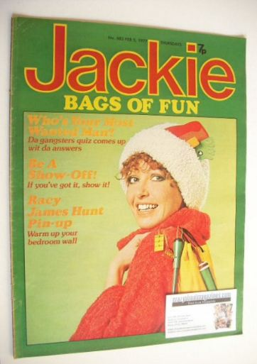 <!--1977-02-05-->Jackie magazine - 5 February 1977 (Issue 683)