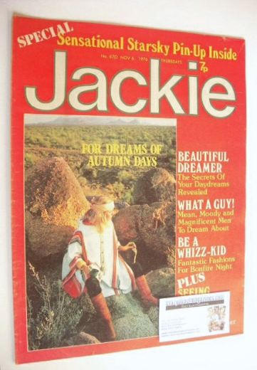 <!--1976-11-06-->Jackie magazine - 6 November 1976 (Issue 670)