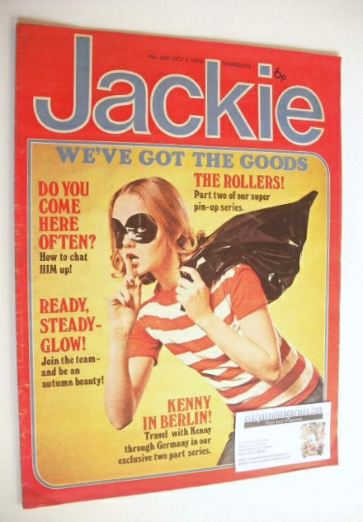<!--1976-10-02-->Jackie magazine - 2 October 1976 (Issue 665)