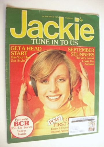 <!--1976-09-25-->Jackie magazine - 25 September 1976 (Issue 664)