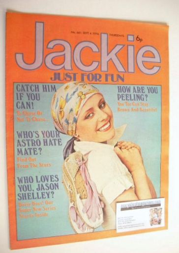 <!--1976-09-04-->Jackie magazine - 4 September 1976 (Issue 661)