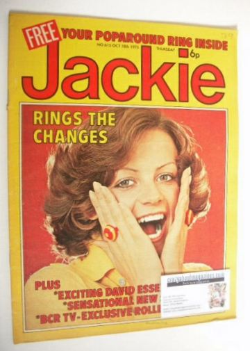 <!--1975-10-18-->Jackie magazine - 18 October 1975 (Issue 615)