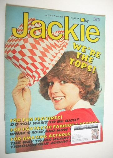 <!--1975-09-06-->Jackie magazine - 6 September 1975 (Issue 609)
