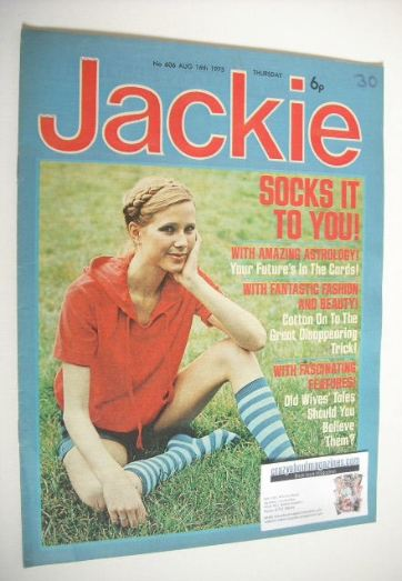 <!--1975-08-16-->Jackie magazine - 16 August 1975 (Issue 606)