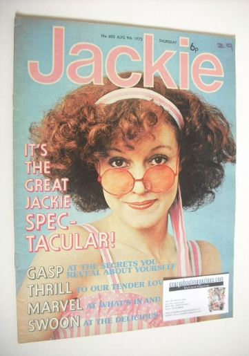 <!--1975-08-09-->Jackie magazine - 9 August 1975 (Issue 605)
