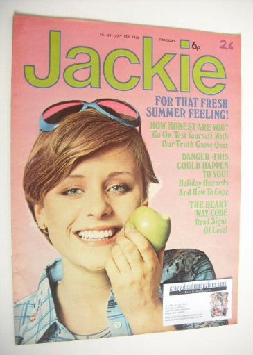 <!--1975-07-12-->Jackie magazine - 12 July 1975 (Issue 601)