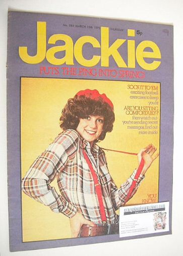 <!--1975-03-15-->Jackie magazine - 15 March 1975 (Issue 584)