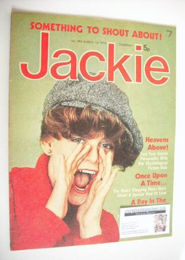<!--1975-03-01-->Jackie magazine - 1 March 1975 (Issue 582)