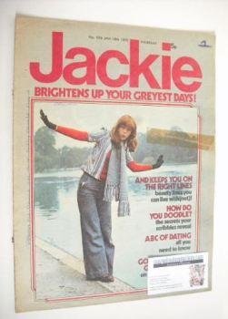 Jackie magazine - 18 January 1975 (Issue 576)