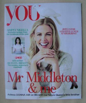 <!--2015-09-27-->You magazine - Donna Air cover (27 September 2015)